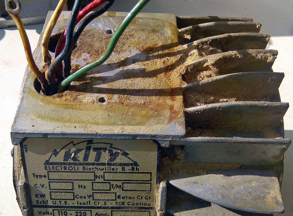 rebrancher fils moteur électrique Kity