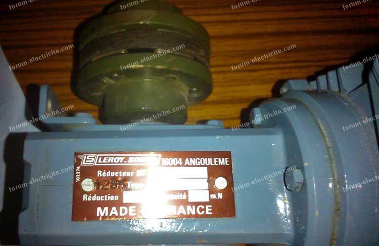 reducteur moteur asynchrone