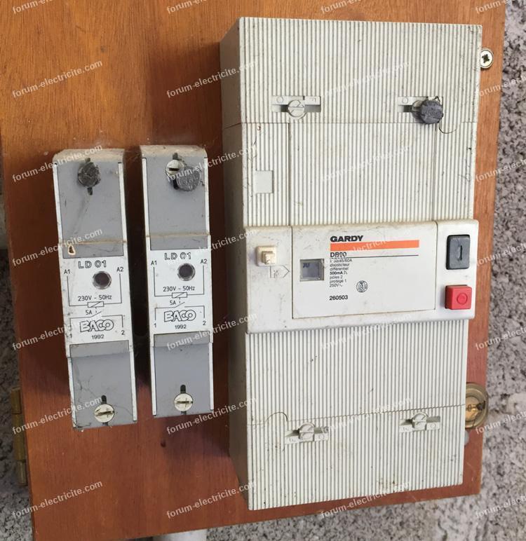 réfection tableau électrique