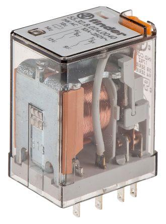 relais 2 RT enfichable bobine 24v AC