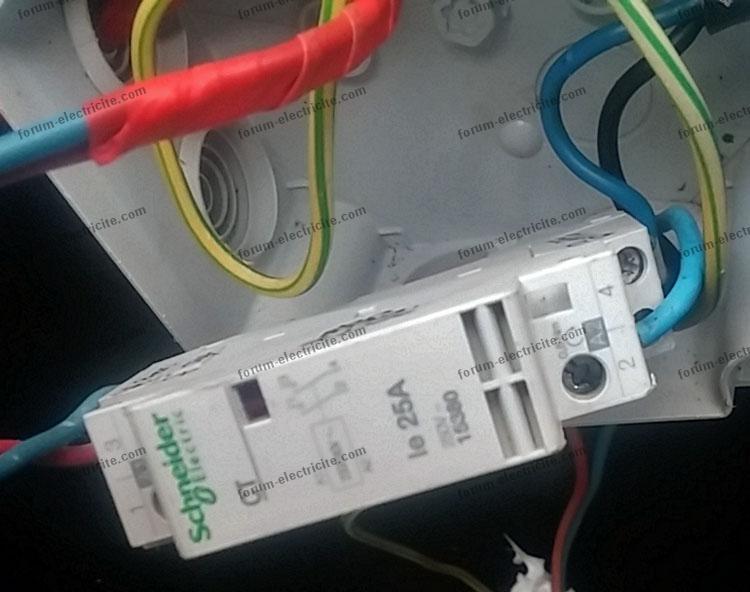Schneider Electric relais 25A