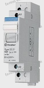 relais monostable modulaire