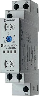 relais temporisé multifonction Conrad