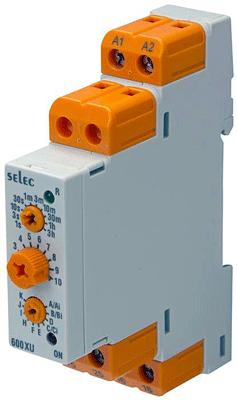 relais temporisé multifonctions Selec