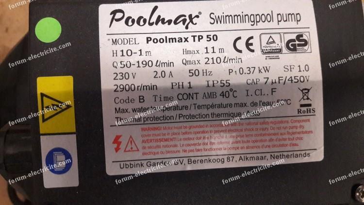 relais thermique coffret de piscine