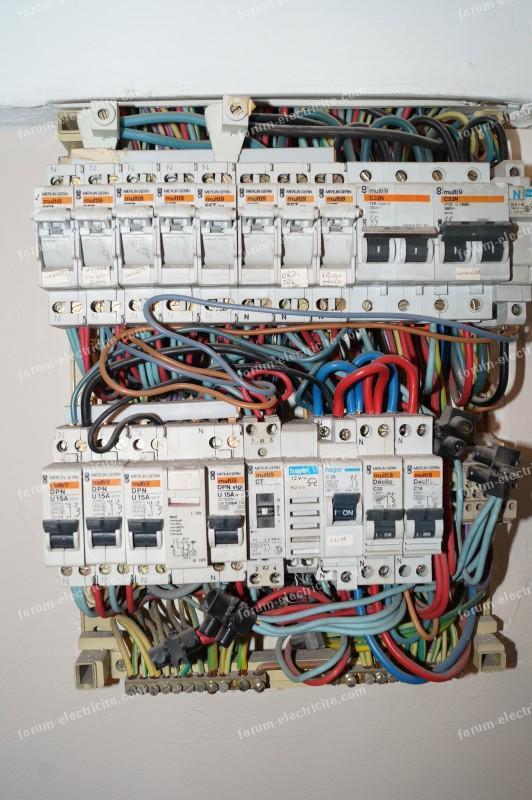 Remplacement disjoncteurs 380V