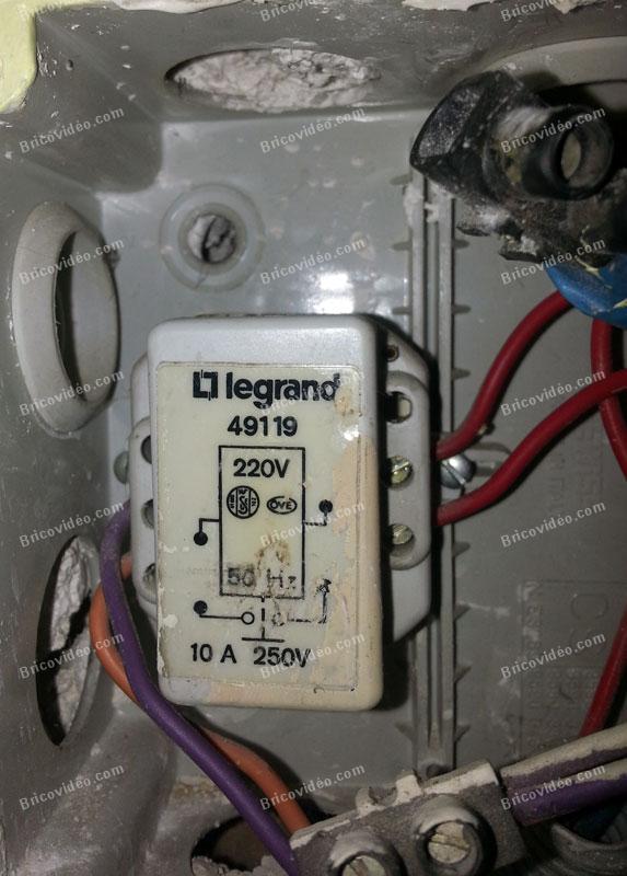 Forum Electricite Probleme Remplacement Telerupteur Legrand 49119 Par Telerupteur 49120
