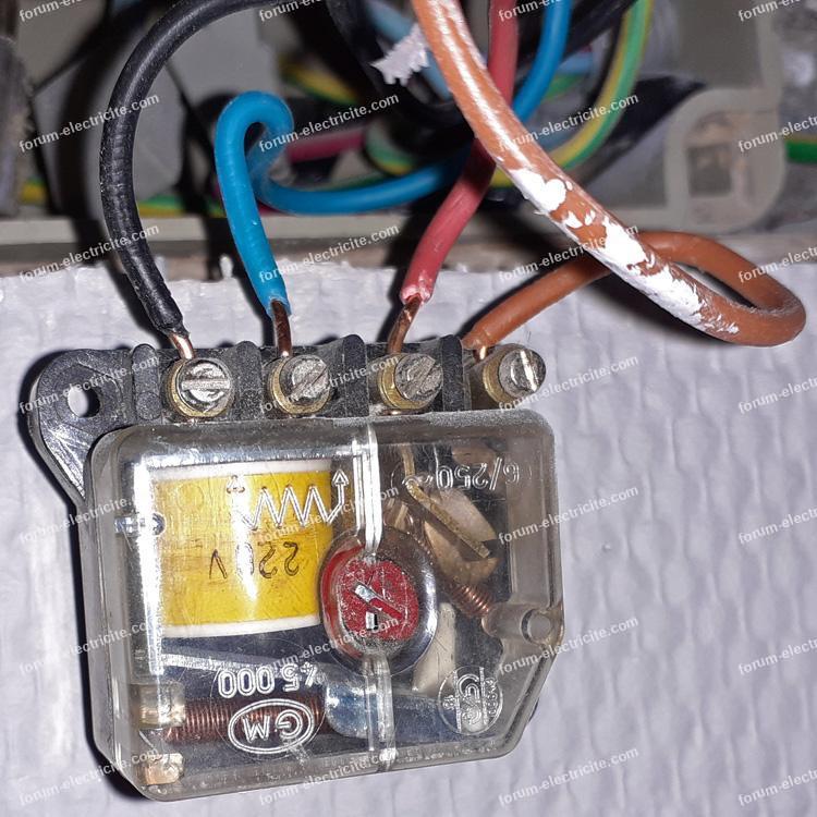 remplacement télérupteur GM4500