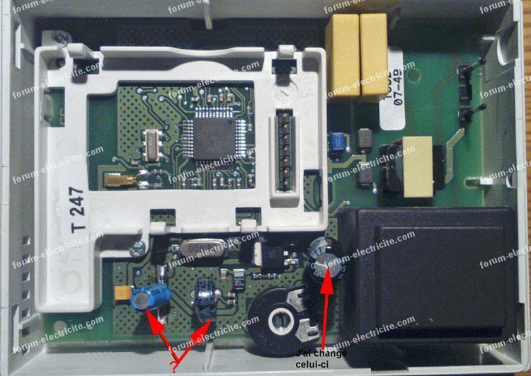 remplacer condensateur delta dore 220cpl