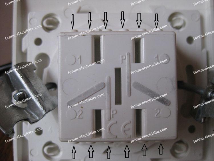 remplacer double interrupteur