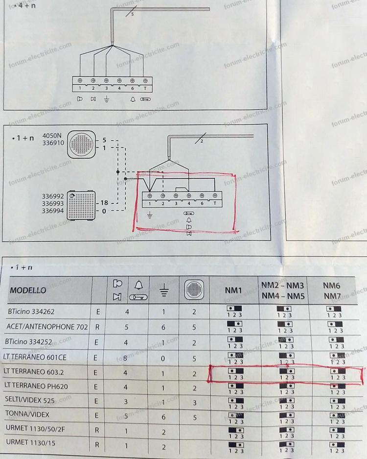 remplacer interphone deux fils solution