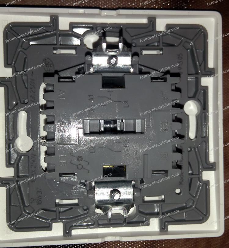 remplacer interrupteur double va et vient