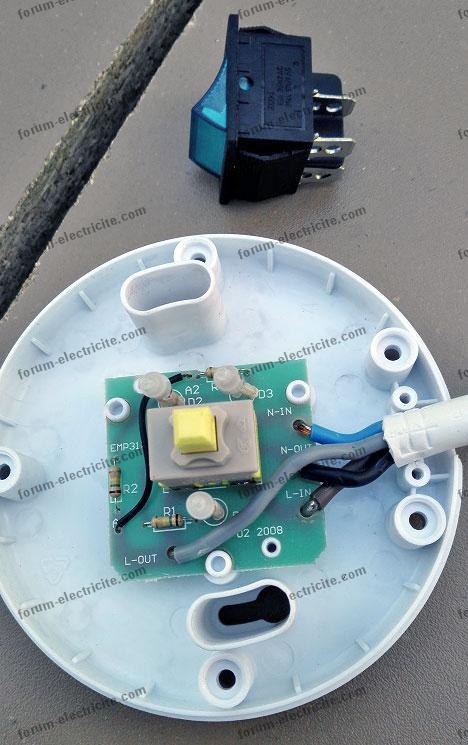 Remplacer un interrupteur à bascule