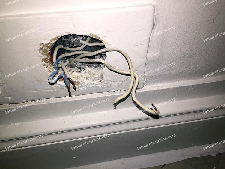 remplacer prises sur vieux réseau électrique