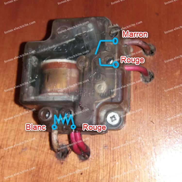 remplacer télérupteur GM série 4400 par Finder 2601