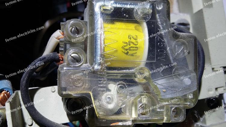 Remplacement vieux télérupteur GM série 4400 par Legrand 4124 08