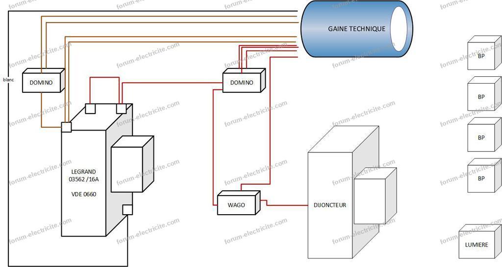 remplacer un télérupteur par un module domotique