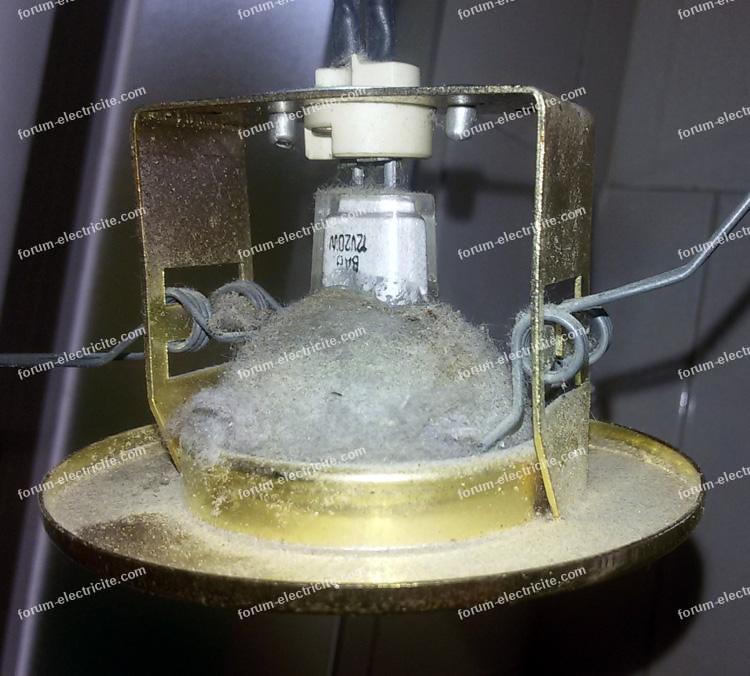 Remplacer tranformateur torique de rampe d'éclairage