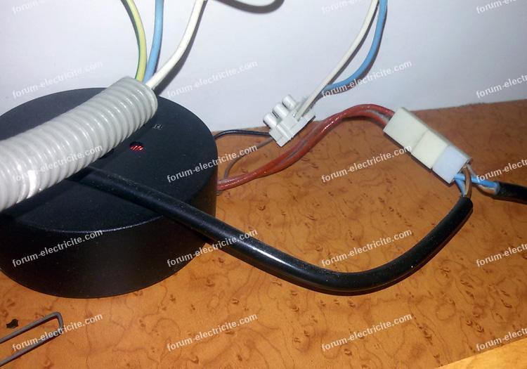 Remplacer tranformateur torique pour rampe d'éclairage