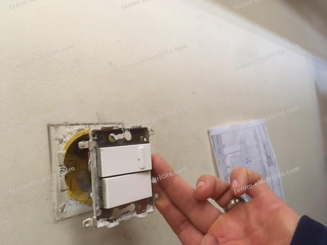 remplacer variateur avec interrupteur