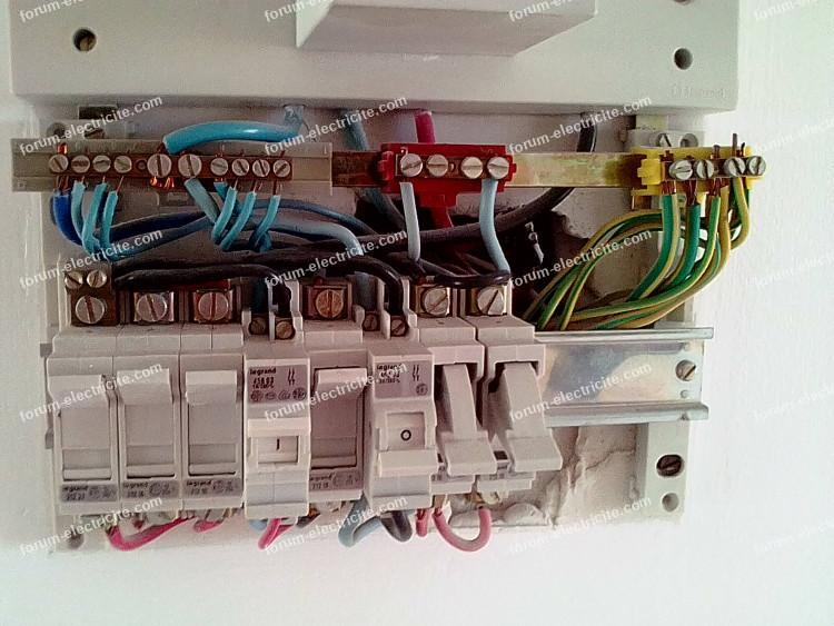 remplacement vieux tableau électrique