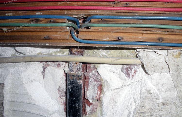 Informations ancienne installation électrique
