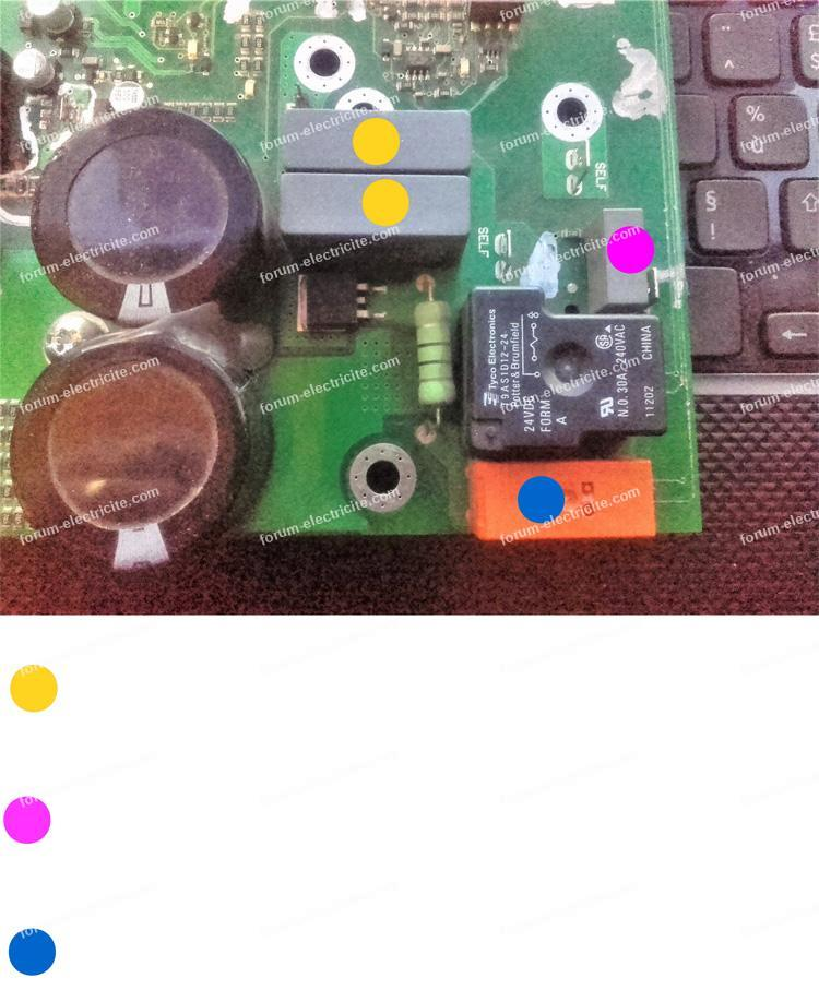 réparation poste à souder TIG GYS 208