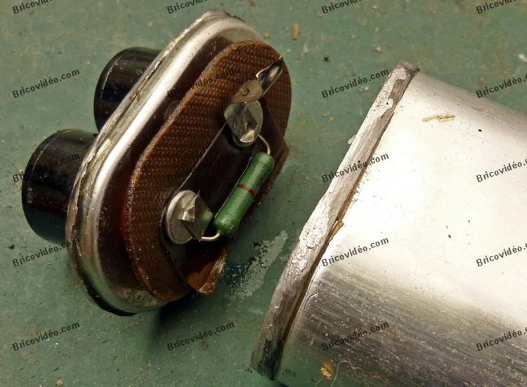 resistance de decharge condensateur