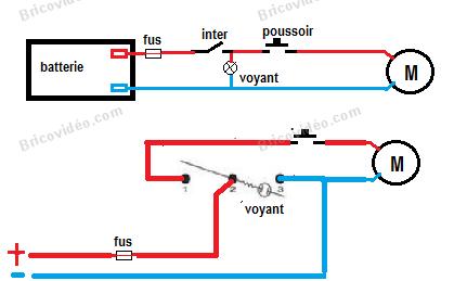 Probl mes branchement d 39 un circuit lectrique brancher moteur soit command par le bouton poussoir - Probleme electrique maison court circuit ...