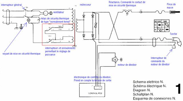 bricovid o forum lectricit c blage commutateur rotatif poste souder medarc. Black Bedroom Furniture Sets. Home Design Ideas