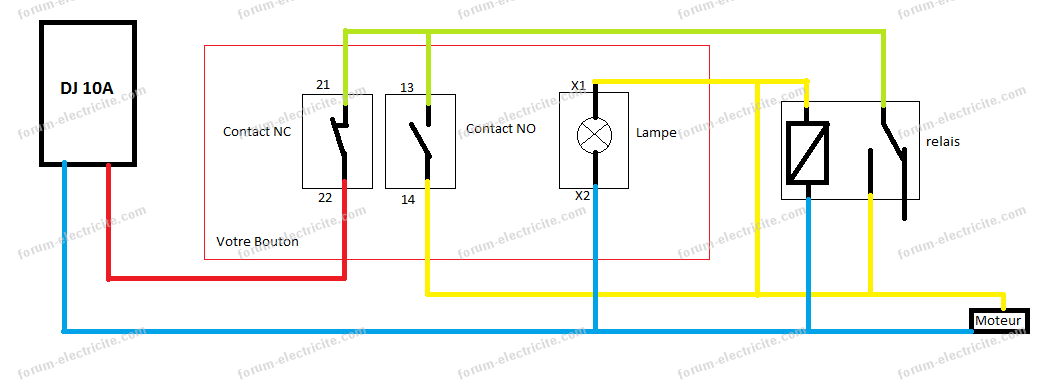 questions r ponses lectricit aide et conseils branchement interrupteur moteur de lapidaire. Black Bedroom Furniture Sets. Home Design Ideas