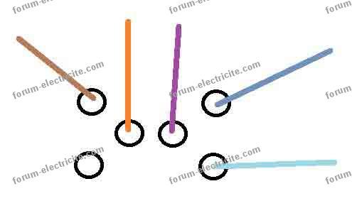 schéma branchement interrupteur Legrand double va et vient