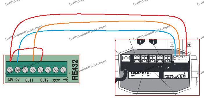 Verins portail electrique amazing verin porte de garage for Branchement porte garage electrique