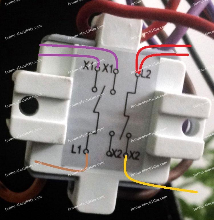 Remplacer un double interrupteur va et vient for Brancher un double va et vient