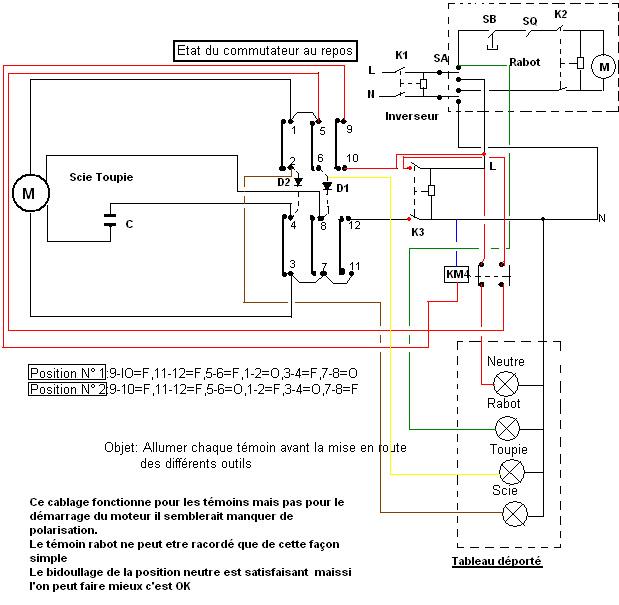 schema electrique combi