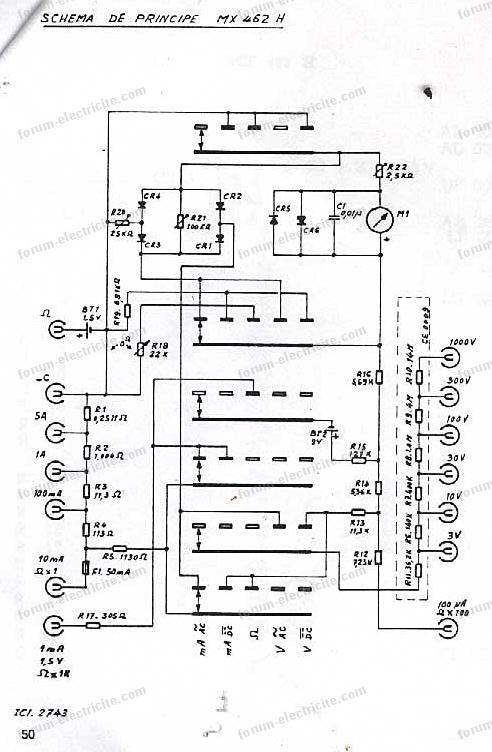 Metrix 462 schéma
