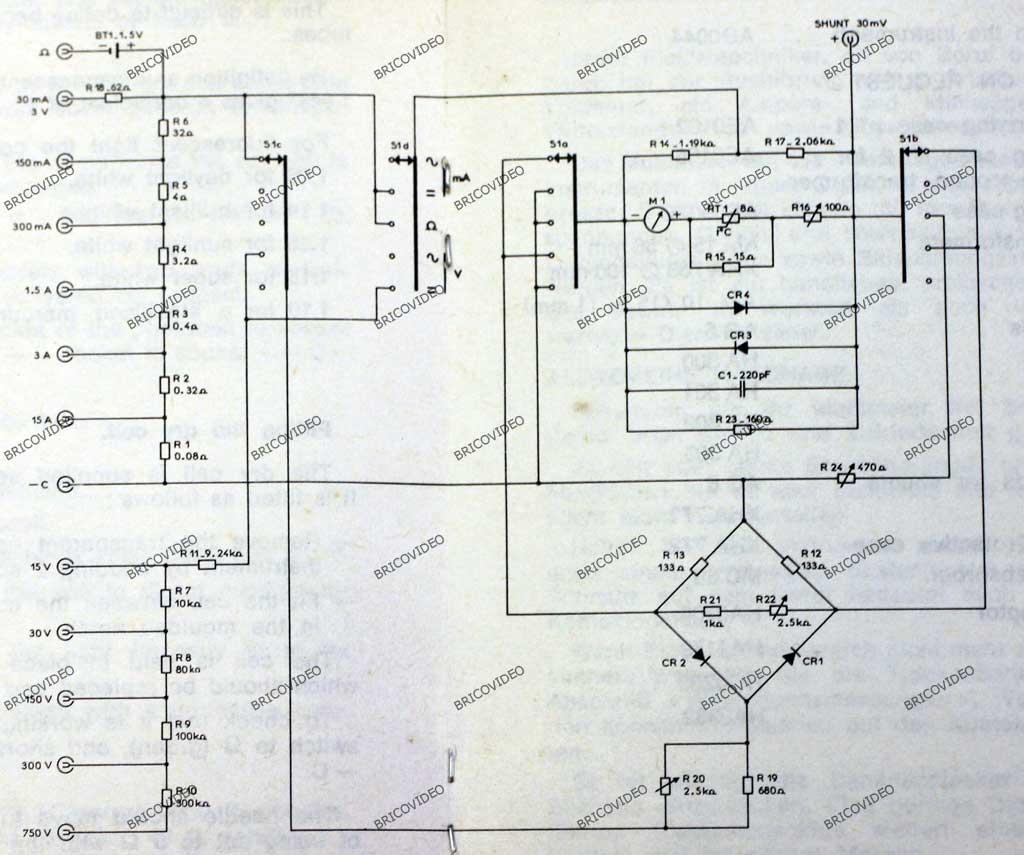 schéma Metrix MX 453 D