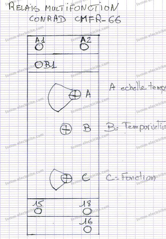 schéma relai multifonction