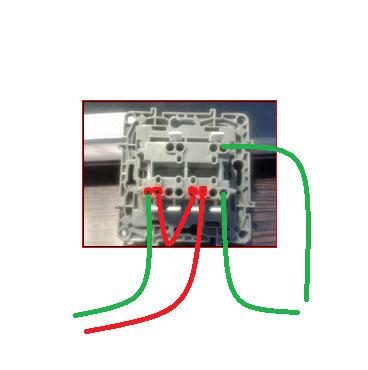 schéma remplacement interrupteur Legrand chambord