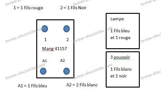 Conseils Forum Electricite Remplacer Telerupteur Mang 41157 Par Un Legrand 49120