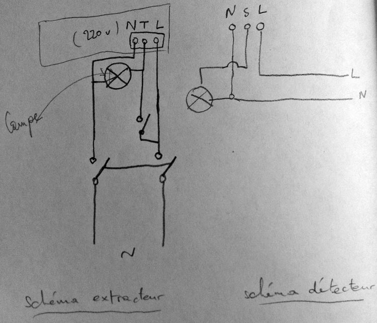 forum lectricit brancher extracteur d 39 air avec d tecteur de pr sence. Black Bedroom Furniture Sets. Home Design Ideas