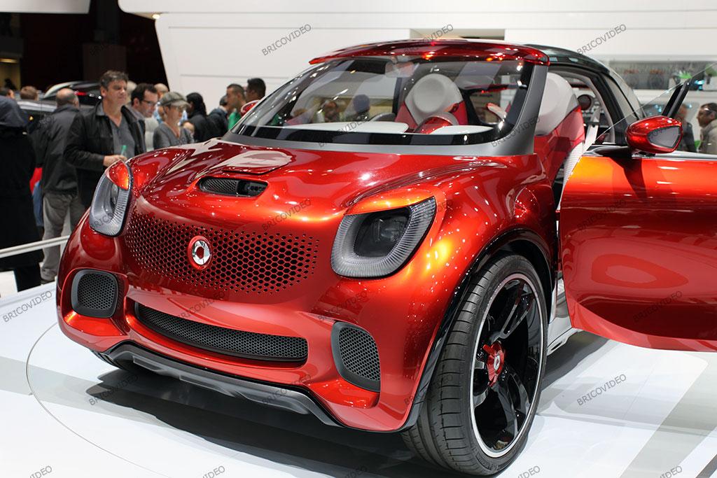 voiture électrique  smart electrique concept