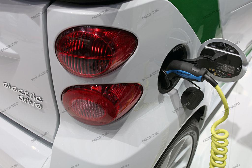 smart electrique drive voiture électrique