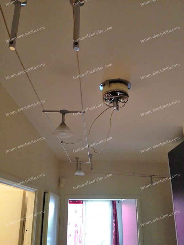 panne luminaire sur c ble conseils d pannage remplacer le fusible thermique. Black Bedroom Furniture Sets. Home Design Ideas