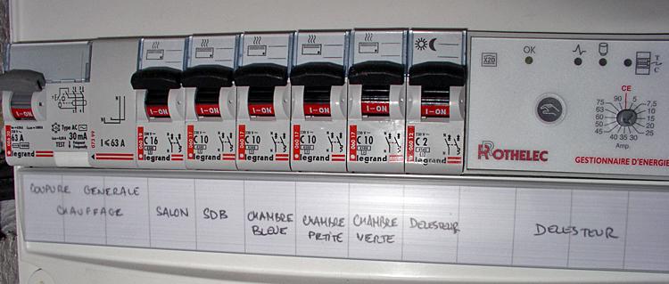 Ajout d 39 un second tableau lectrique quelles modifications - Branchement d un tableau electrique ...