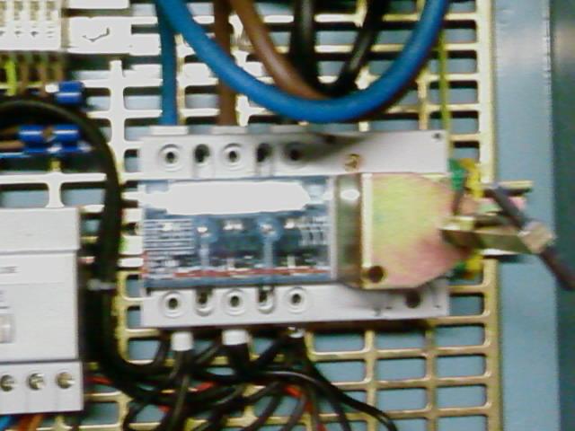 Cliquez sur l'image pour l'agrandir tableau électrique triphase