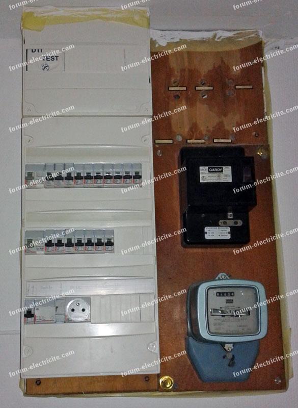 câble RJ45 Tableau électrique