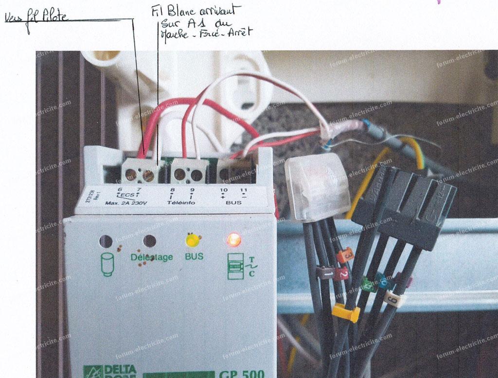 Questions lectricit probl me branchement horloge cct 15851 tableau lectrique - Horloge tableau electrique ...