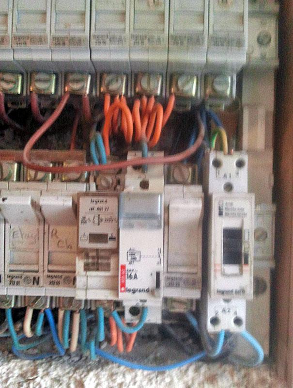 Information tableau électrique