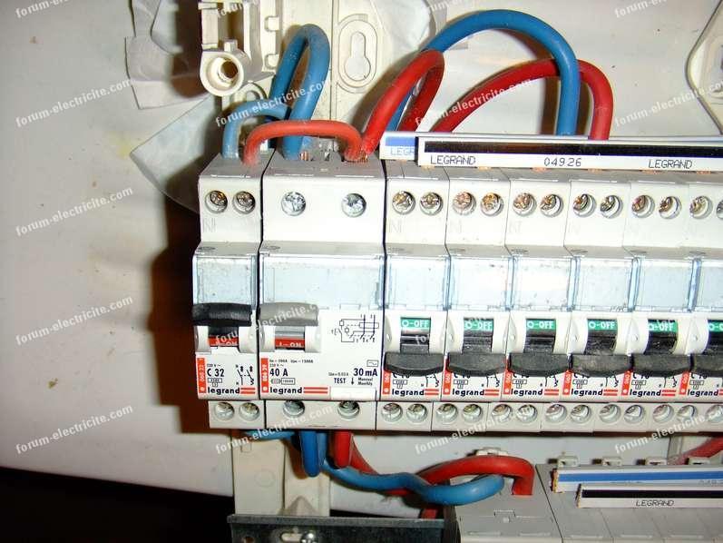 tableau électrique récupération
